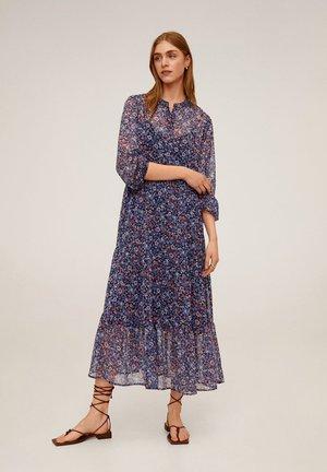 GARDEN - Korte jurk - marineblau