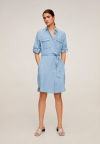 Mango - NEWSUSY - Sukienka jeansowa - mittelblau - 1