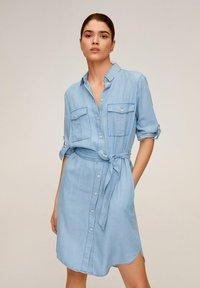 Mango - NEWSUSY - Sukienka jeansowa - mittelblau - 0