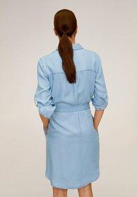 Mango - NEWSUSY - Sukienka jeansowa - mittelblau - 2