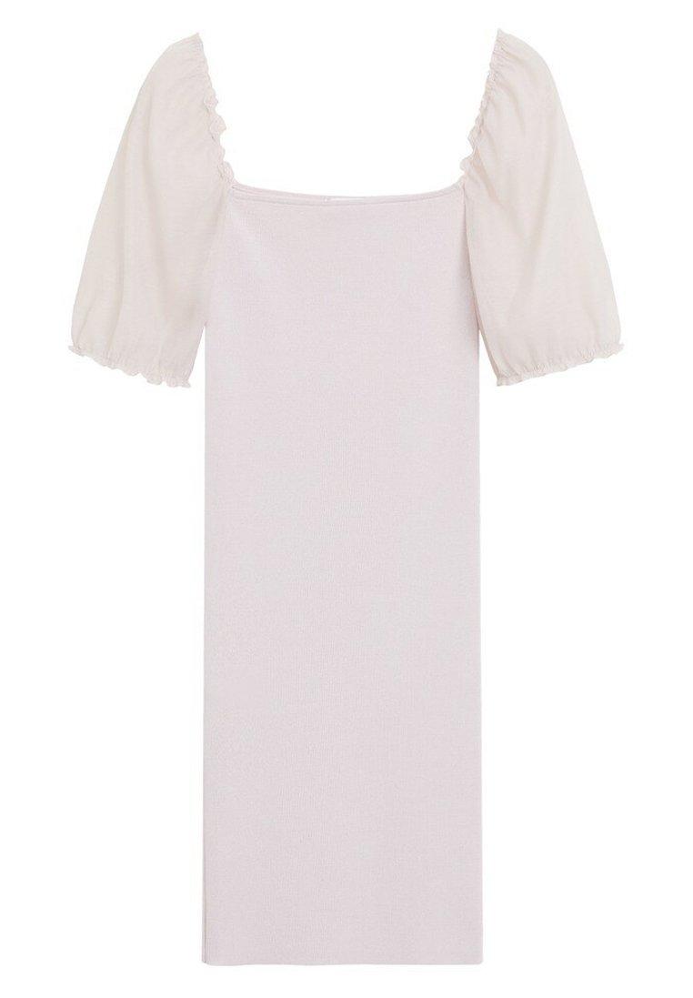 Mango ARIEL - Sukienka etui - cremeweiß