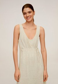 Mango - LINEN - Maxi dress - beige - 0