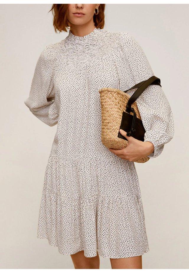 VALEN - Day dress - cremeweiß