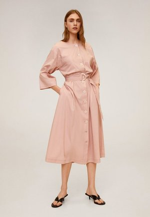 ZANZIBAR - Shirt dress - pastellrosa