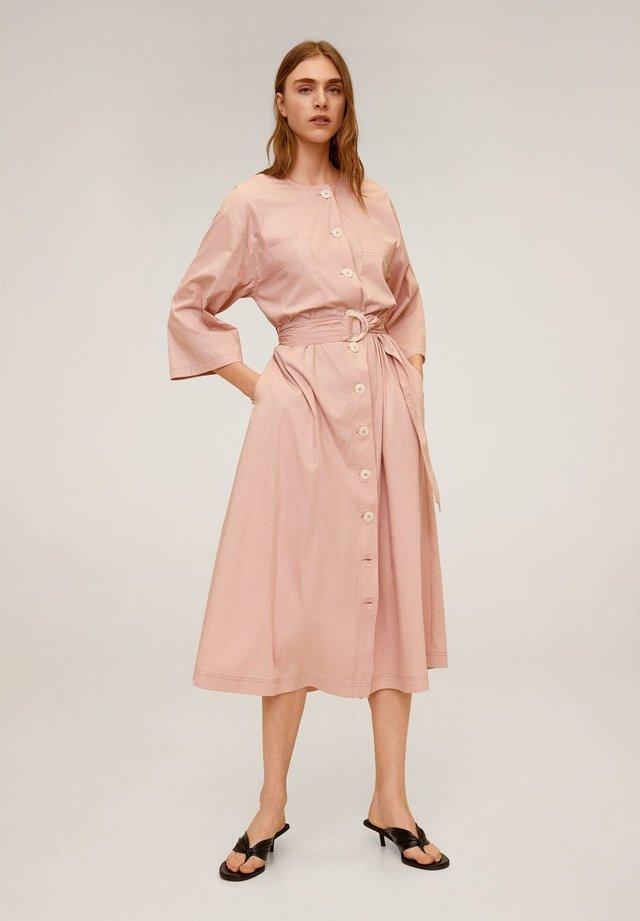 ZANZIBAR - Shirt dress - pastellrosa