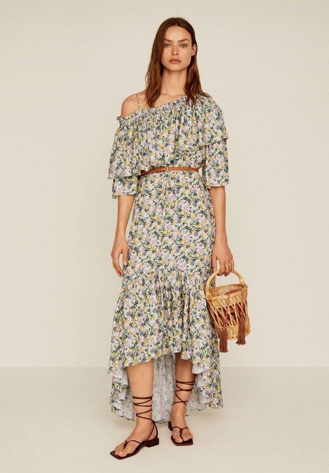SAIMI - Długa sukienka - cremeweiß