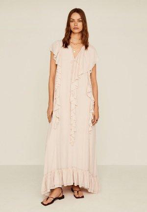 AILA - Robe longue - nude