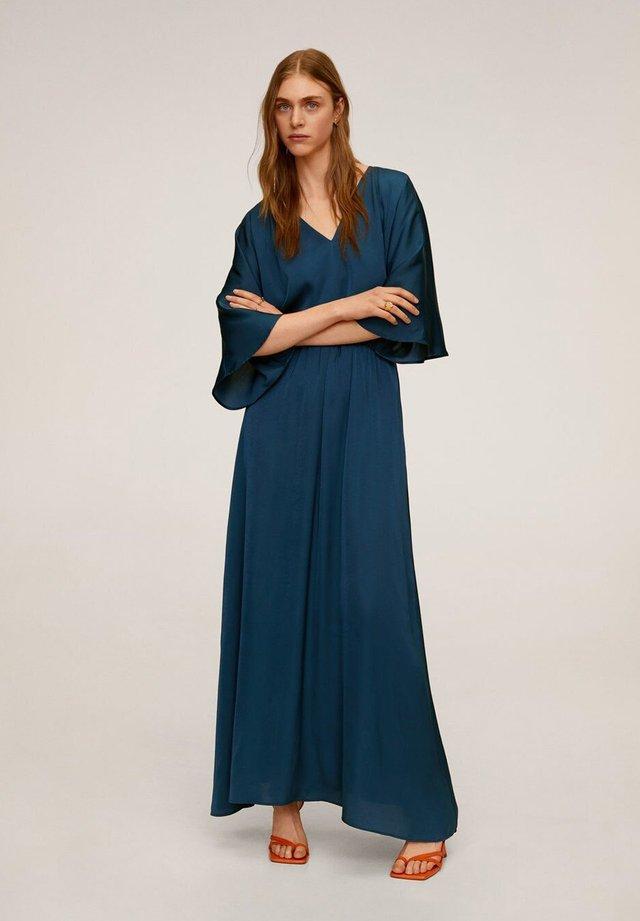 PICAS-A - Długa sukienka - petrolblau