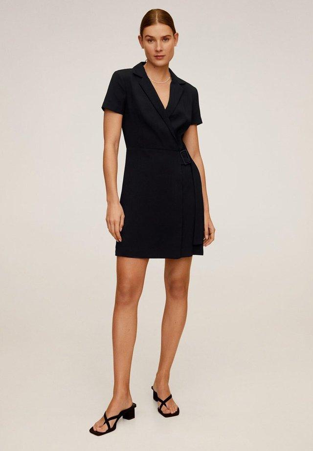 GARAZI - Korte jurk - schwarz