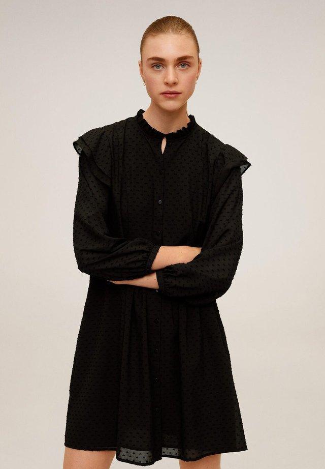 BOBO - Shirt dress - schwarz