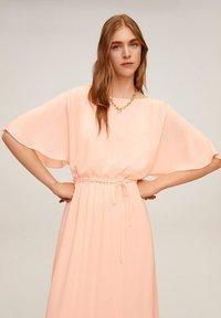 Mango - DUDDY - Robe longue - rosa - 0
