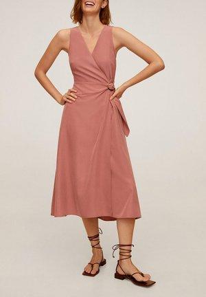 CALA - Korte jurk - pastellrosa