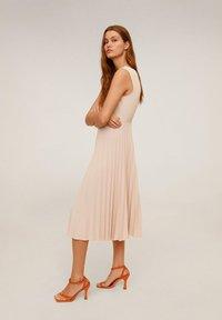 Mango - BLANCA - Vestido informal - pastellrosa - 3