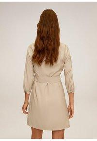 Mango - TUXEDO - Shirt dress - hellgrau/pastellgrau - 2