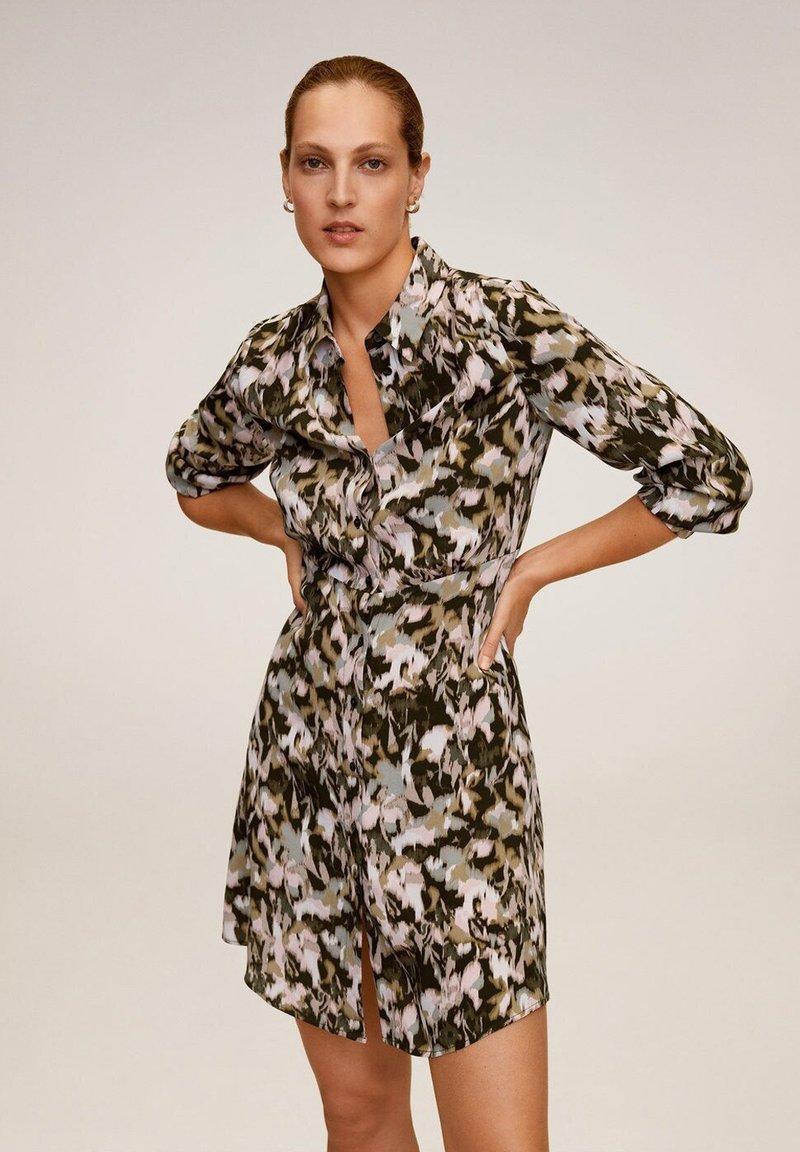 Mango - CASCABE - Sukienka koszulowa - khaki