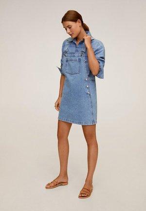 NEWPICHI - Vestito di jeans - mittelblau