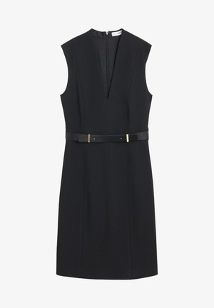 UNA - Kjole - schwarz