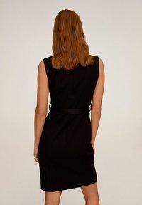 Mango - UNA - Korte jurk - schwarz - 2