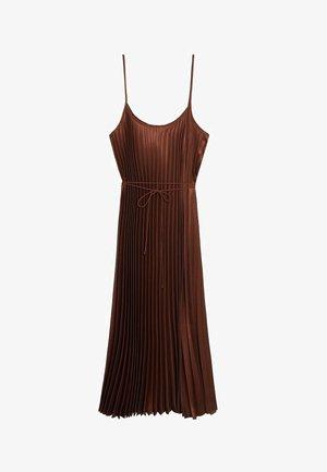 PLISADO - Sukienka letnia - braun