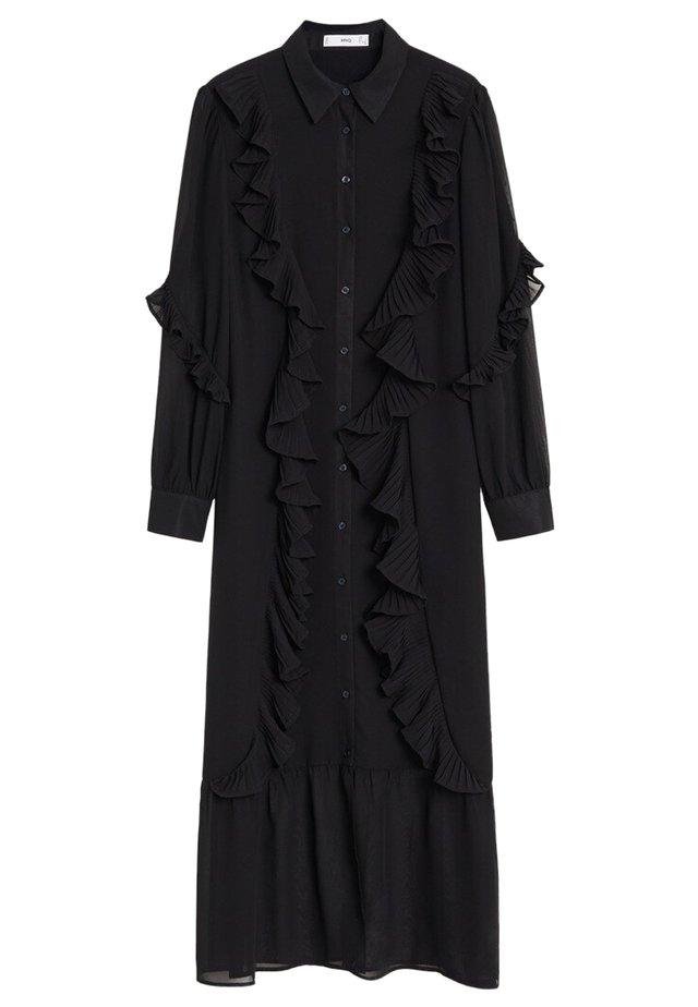 DAVID-A - Shirt dress - schwarz