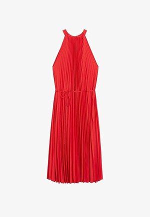 AGOSTO - Sukienka letnia - červená