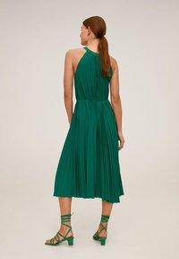 Mango - AGOSTO - Vapaa-ajan mekko - smaragdgrön - 1