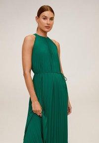 Mango - AGOSTO - Vestido informal - smaragdgrön - 2