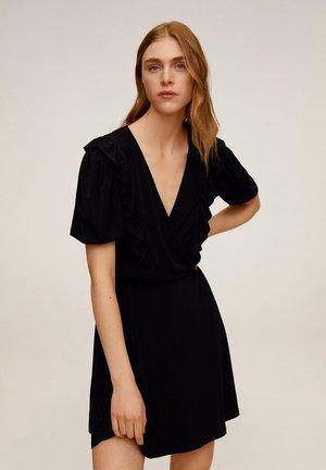 ROMANTIC - Korte jurk - zwart