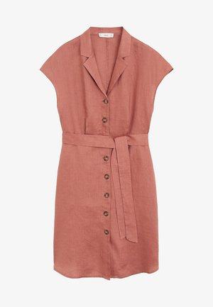 SAFARI - Vestido camisero - Zartrosa