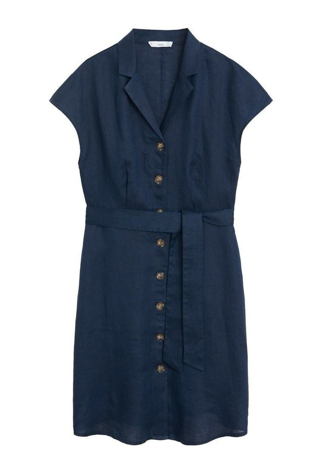 SAFARI - Shirt dress - dunkles marineblau