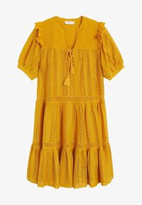 Mango - PASION - Day dress - senfgelb - 3