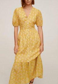 Mango - JUNGLE - Day dress - gelb - 2