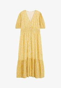 Mango - JUNGLE - Day dress - gelb - 3