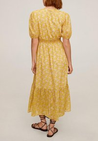Mango - JUNGLE - Day dress - gelb - 1