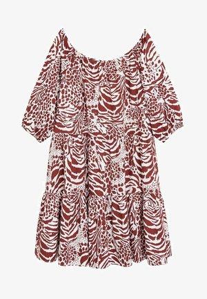 ALBA - Vestido informal - rødbrun