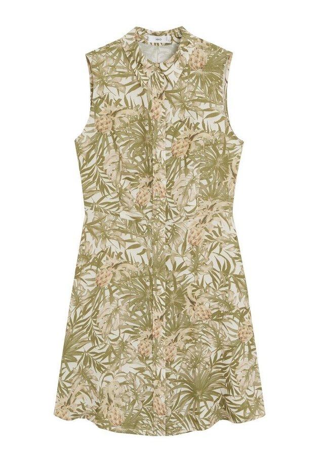 CASCA - Shirt dress - verde