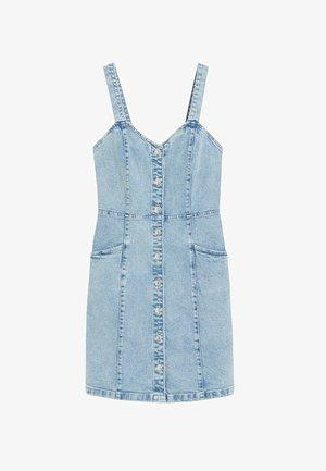 BOHO - Denim dress - blue