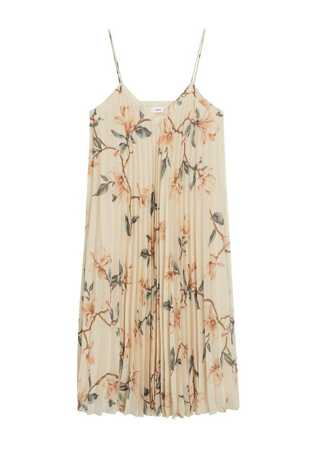 VAINICA - Korte jurk - cremeweiß