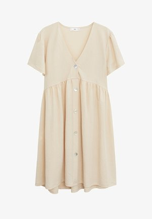 THALIA - Shirt dress - zand