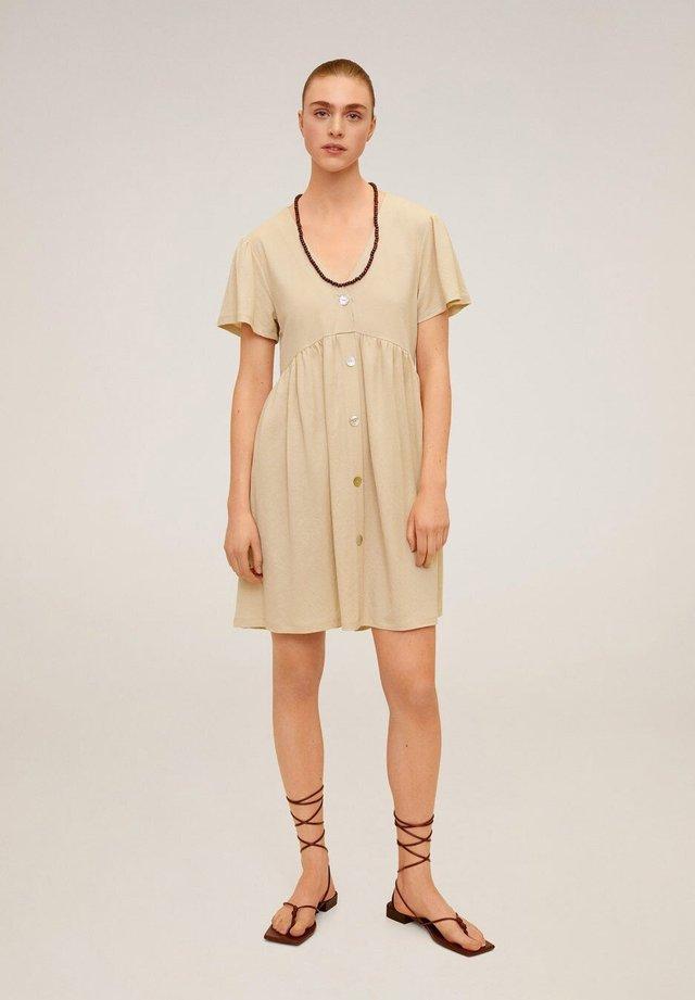 THALIA - Sukienka koszulowa - zand