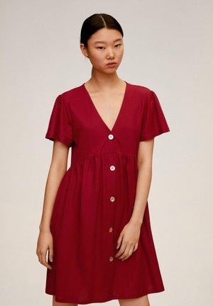 THALIA - Robe chemise - kersenrood