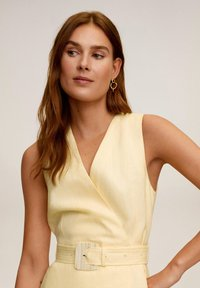 Mango - BORELI - Korte jurk - pastellgelb - 3