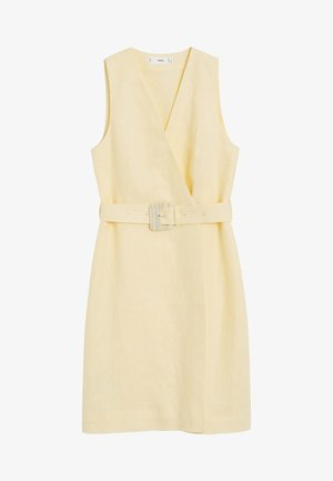 BORELI - Robe d'été - pastellgelb