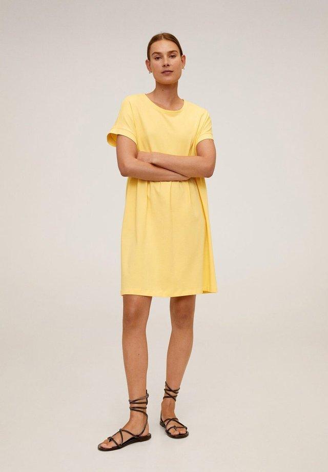 GISELE - Korte jurk - geel