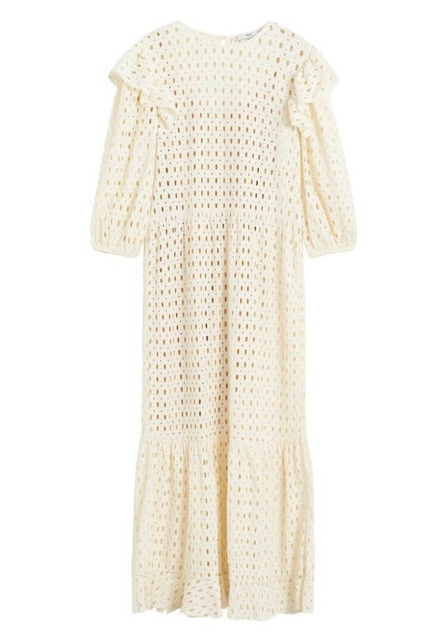 ANABEL - Gebreide jurk - ecru