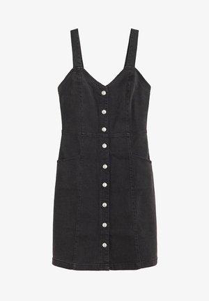 BOHO - Robe chemise - black denim