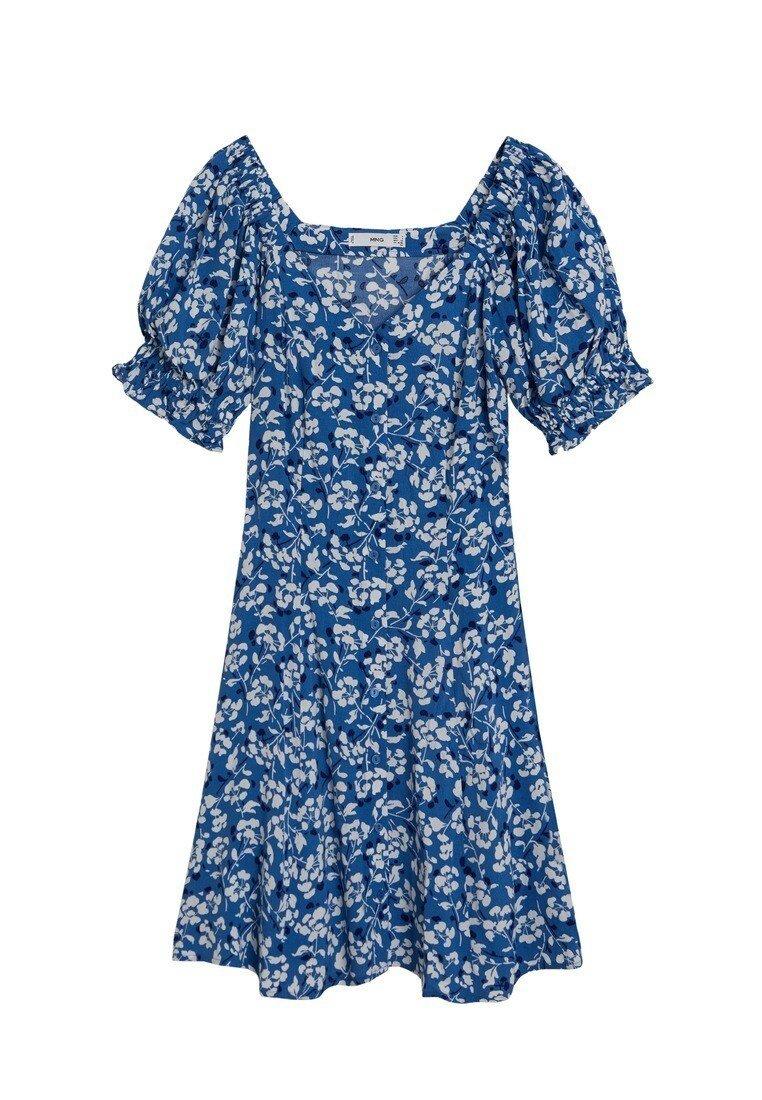 Mango - SERE - Robe d'été - blau