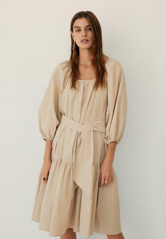 RIMINI - Sukienka letnia - beige