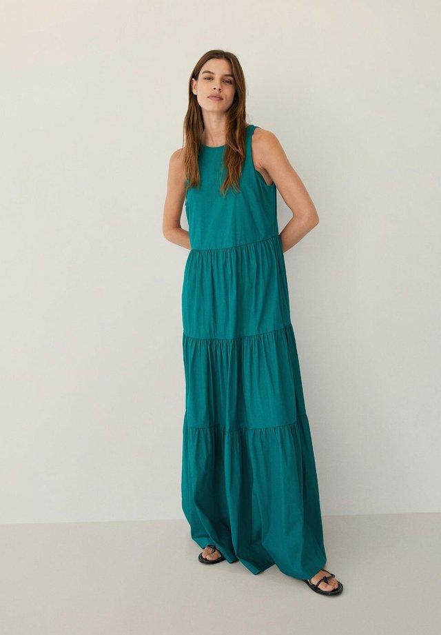 Vestito lungo - smaragdgrün