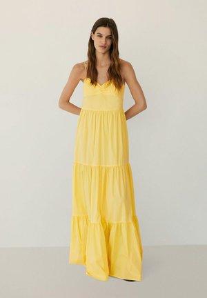 YAKI - Vestido largo - gelb